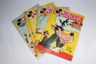 Mickey Magazine Février 1955 n°226 à n°229