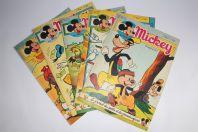 Mickey Magazine Mars 1955 n°230 à n°234