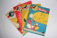 Mickey Magazine Juin 1953 n°139 à n°142