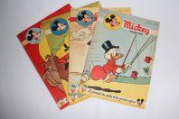 Mickey Magazine Août 1953 n°148 à n°151