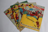 Mickey Magazine Septembre 1953 n°152 à n°155