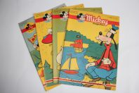 Mickey Magazine Décembre 1952 n°113 à n°116