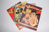 Mickey Magazine Février 1953 n°122 à n°125