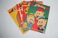 Mickey Magazine Octobre 1952 n°105 à n°108