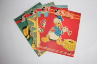 Mickey Magazine Novembre 1952 n°109 à n°112
