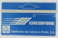 Télécarte de service L&G Telefones de Lisboa e Porto 601L Portugal