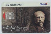 Télécarte à puce Fridtjof Nansen Norvège