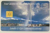 Télécarte à puce Demo Landis & Gyr Communications Genève Suisse