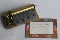 Ancien mécanisme musical boite à musique Suisse Reuge