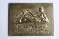 Médaille SARKI La Genevoise Assurances-vie Pochon Genève Suisse