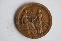 Médaille Compagnie Universelle du Canal maritime de Suez 1869