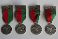 Médailles Tir au canon Carouge Suisse