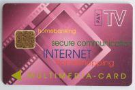 Carte à puce Multimedia Card ODS Landis & Gyr Company Allemagne