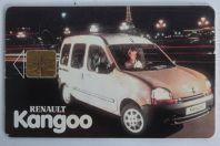 Carte téléphonique à puce République Tchèque Renault Kangoo variété