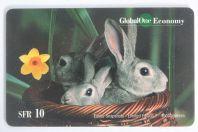 Carte téléphonique GlobalOne Economy Easter Snapshots Limited edition