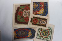 Cartons tapisserie de Berlin XIXe siècle