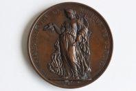 Médaille prix du Conservatoire de musique de Genève 1873
