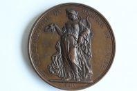 Médaille prix du Conservatoire de musique de Genève 1874