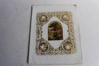 Cahier d'écolier vœux aux parents pour le nouvel an 1866
