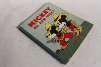 Livre illustré enfant Mickey au Far-West Hachette 1935