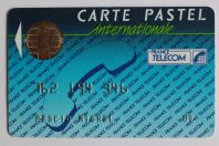 Télécarte à puce Bull France Telecom internationale