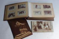 Album photographies anciennes Chevaux de course hippodrome
