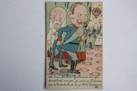 CPA illustrée Guerre 14-18 Caricature Guillaume II O'Gène