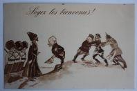 CPA illustrée Guerre 14-18 Verdun Soyez les Bienvenus Marendaz