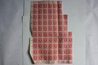 Bloc 75 timbres Allemagne bizone post Deutschland 15 pfenning 1945 neuf