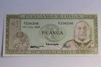 Billet 1 Pa'anga Tonga 1982