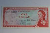 Billet 1 Dollar États des caraïbes orientales 1985-1987