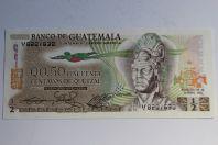 Billet 0,50 Quetzal Guatemala 1982