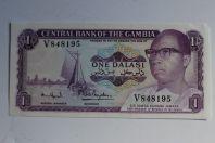 Billet 1 Dalasi Gambie 1971-1987