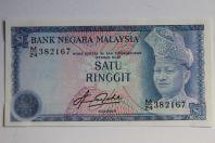 Billet 1 Satu Ringgit Malaisie 1972-1976