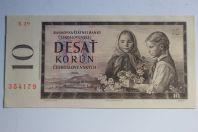Billet 10 Korun Tchécoslovaquie 1960