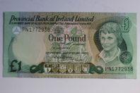 Billet 1 Pound Irlande du Nord 1979