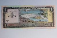 Billet 1 Colon Salvador 1977
