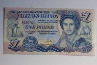 Billet 1 Pound Îles Falkland 1984