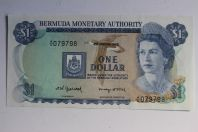 Billet 1 Dollar Bermuda 1982