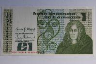 Billet 1 Livre Irlande 1982