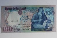 Billet 100 Escudos 1980 Portugal