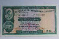 Billet 10 Dollars 1978 Hong Kong et Shanghai