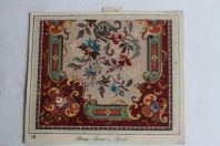 Carton tapisserie de Berlin Bruno Börner XIXe siècle