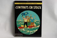 TINTIN Peinture laquée sur panneau publicitaire Contrats en stock
