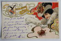 Carte postale publicitaire Fernet-Branca Milano