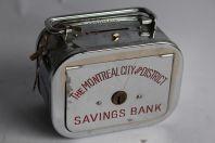 Tirelire The Montréal City of District Savings Bank
