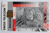 Télécarte à puce Test card Swiss Telecom Suisse 1995