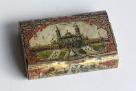 Tabatière tôle Exposition universelle Paris 1878 Trocadéro