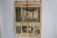 Journal La tribune de Genève 1959 Chanson de l'Escalade 1602 Suisse