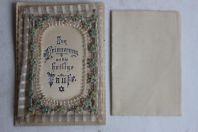 Lettre de baptême gaufrée 1898